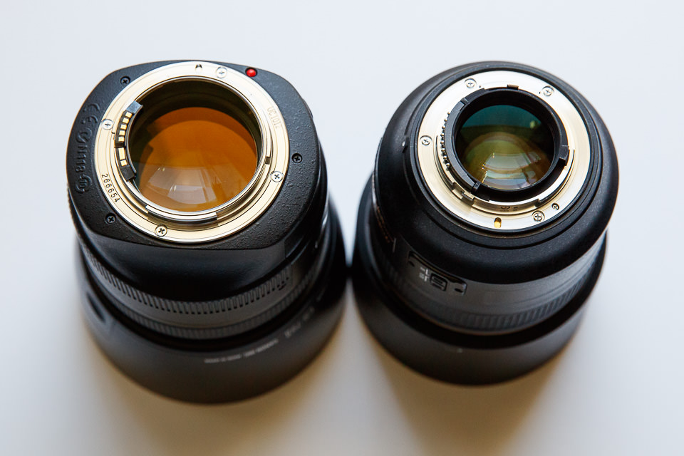 Canon 85mm f/1.2L II vs Nikon 85mm f/1.4G
