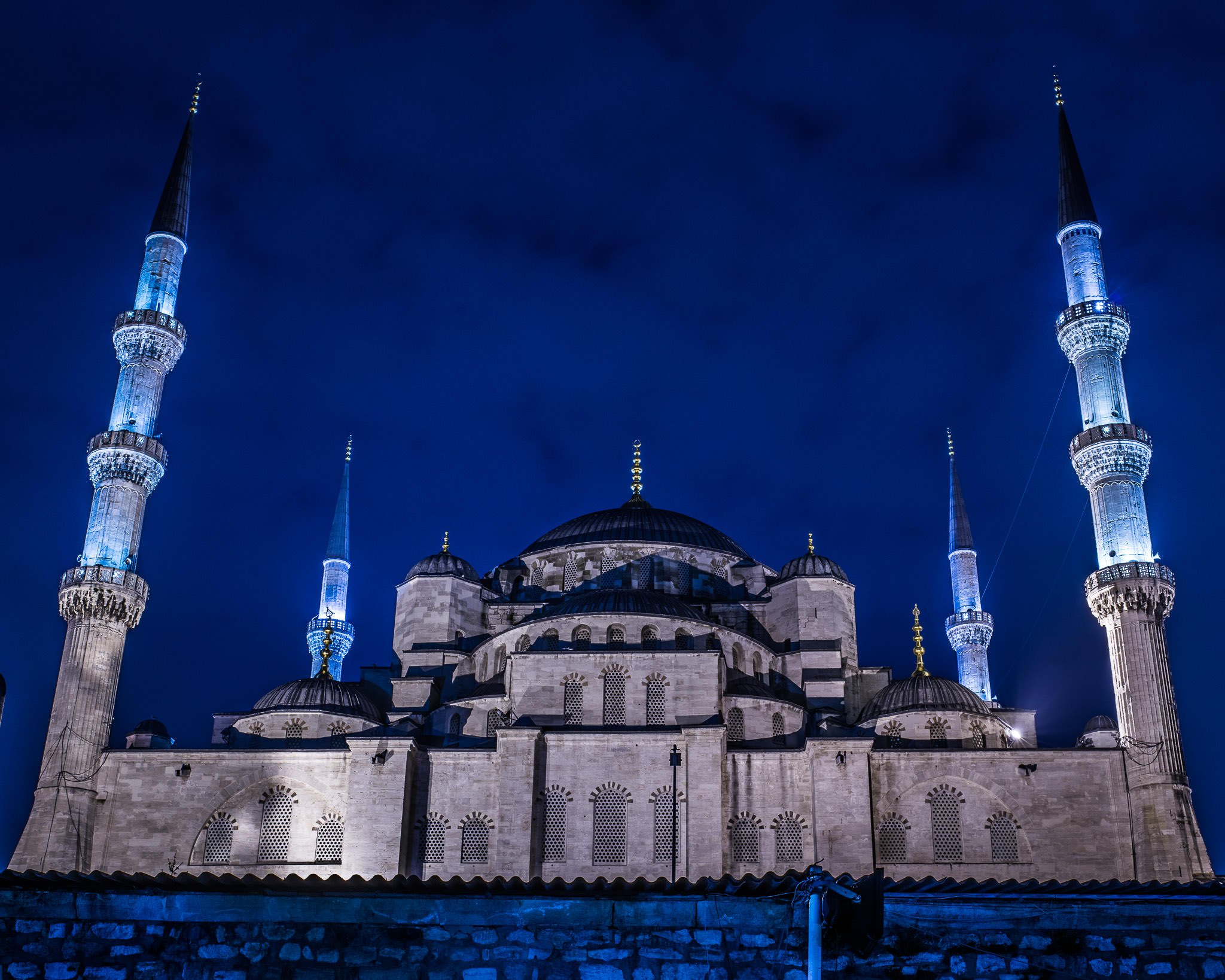 Blue Mosque at Night - Best Photo Spots