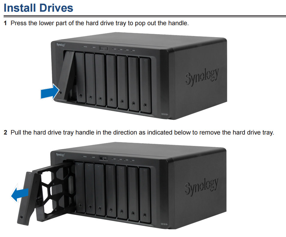 Installing Drives