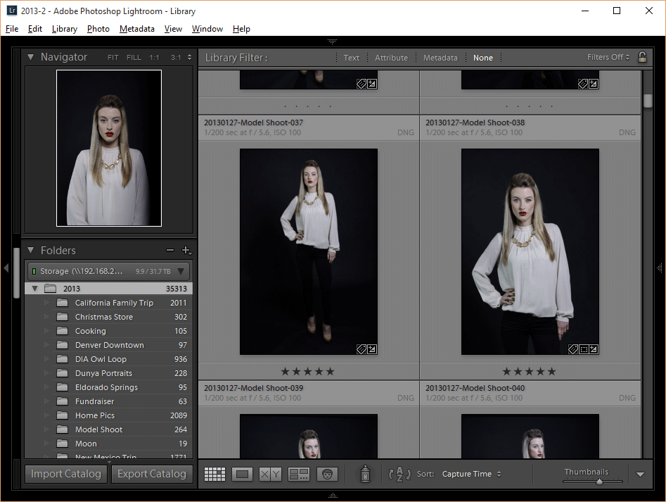Lightroom Network Share