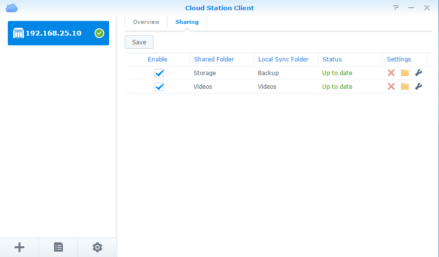 Synology Cloud Station Client