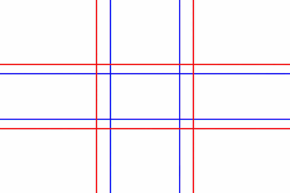 Golden Ratio and rule of Thirds