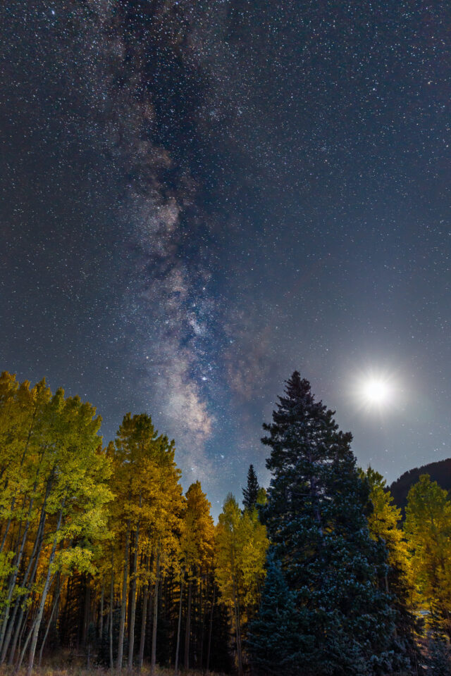 Milky Way Moonrise