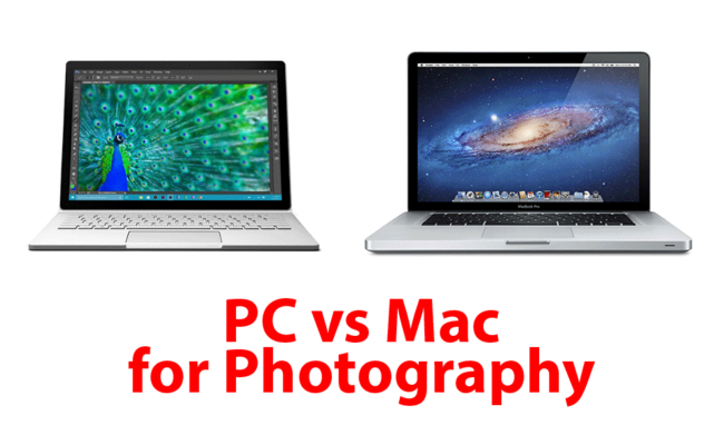 PC vs Mac for Photography