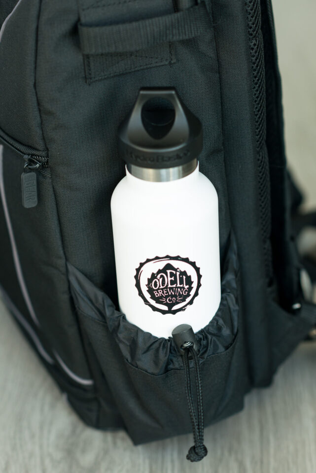 USA Gear S17 Camera Backpack water bottle