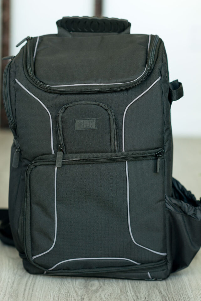 USA Gear S17 Camera Backpack front view