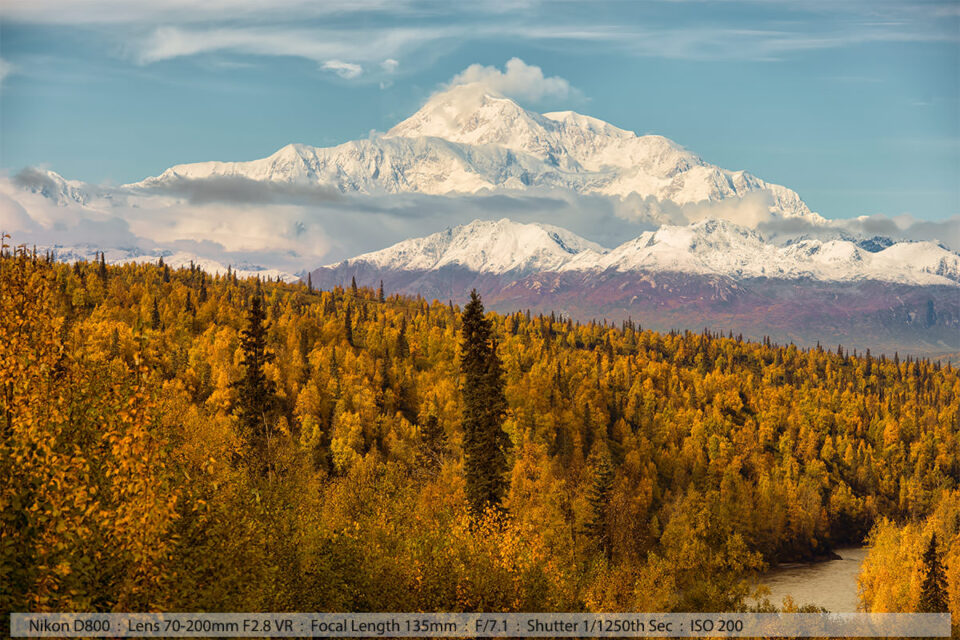 Mount Denali From Road back to Anchorage