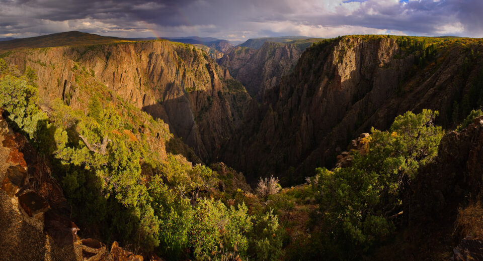 Black Canyon Panorama