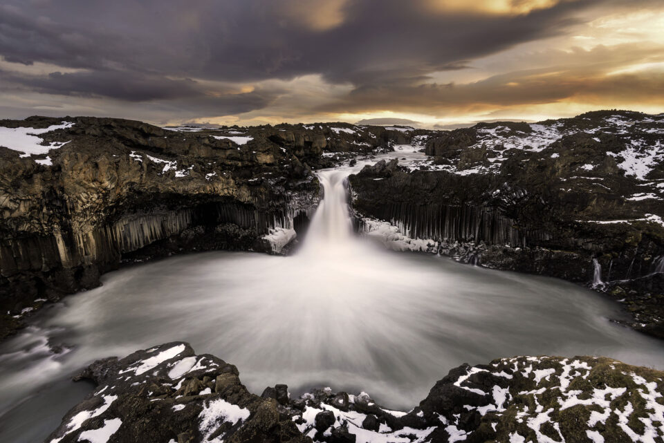 Elia Locardi - Aldeyarfoss Waterfall