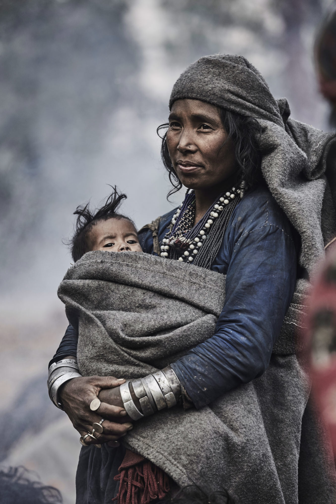 Photo project about the last hunter-gatherers of the Himalayas