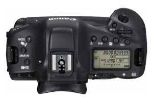 Canon 1D X Mark II Top