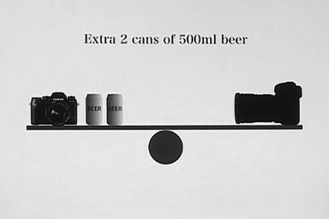 Fuji Mirrorless Beer Campaign
