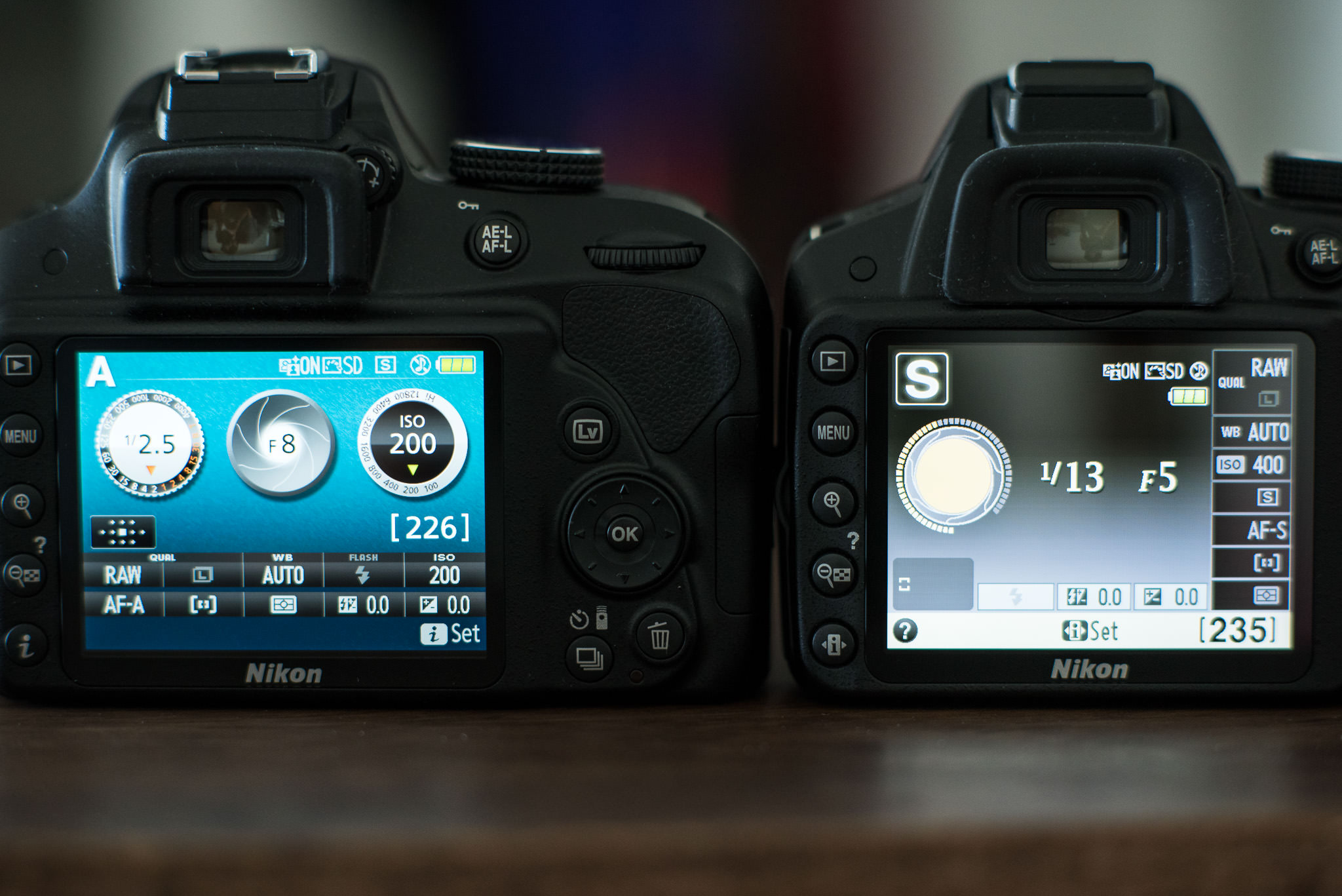 Choosing an entry level nikon dslr camera photography life nikon d3300 info screen left compared to nikon d3200 info screen right nikon d3300 info screen left compared to nikon d3200 info screen right baditri Images
