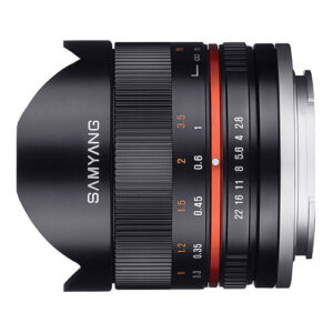 Samyang 8mm f/2.8 UMC Fisheye II