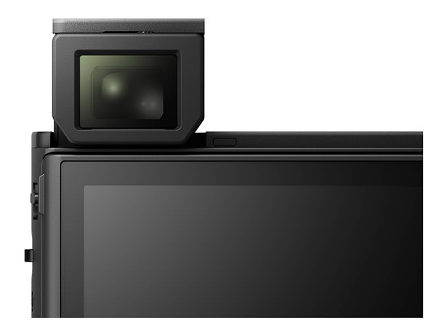 Sony RX100 IV Viewfinder