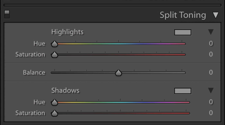 Split-Tone Sliders