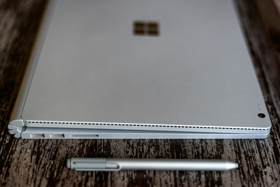 Surface Book Closed