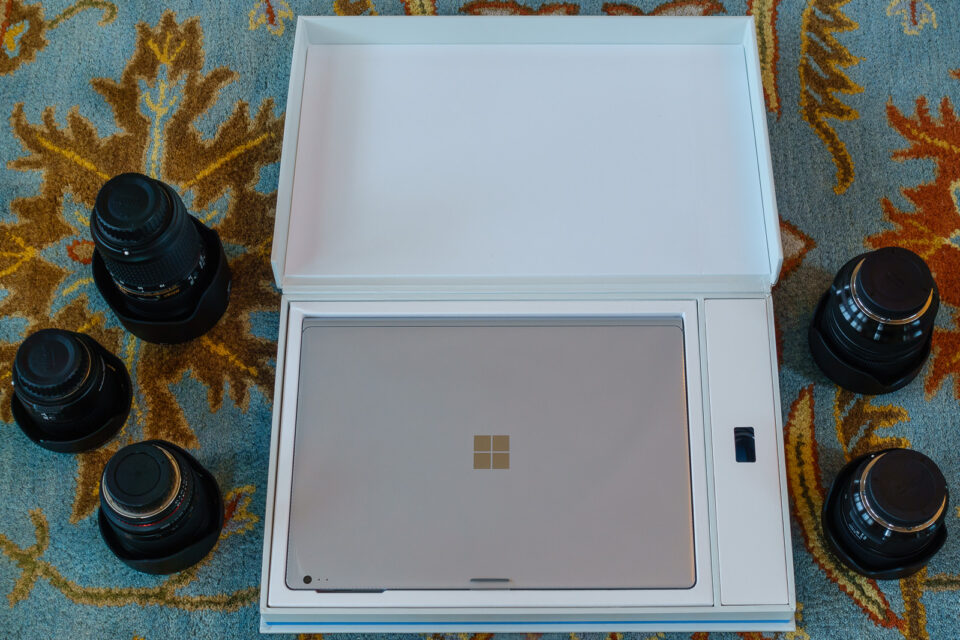 Surface Book Packaging