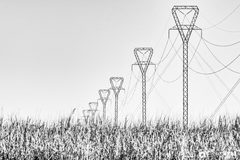 Vertical Power Poles