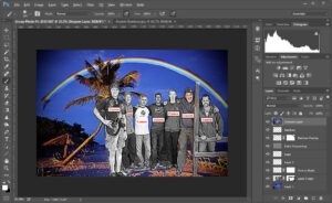 Photoshop Puerto Rico Layers