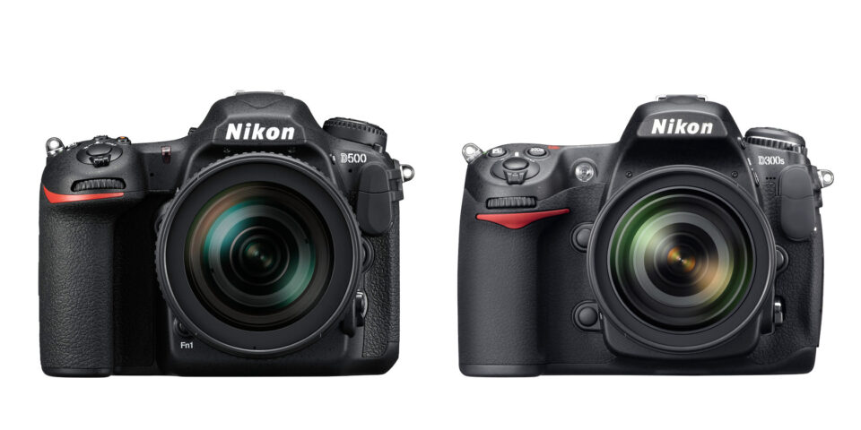 D500 and D300S