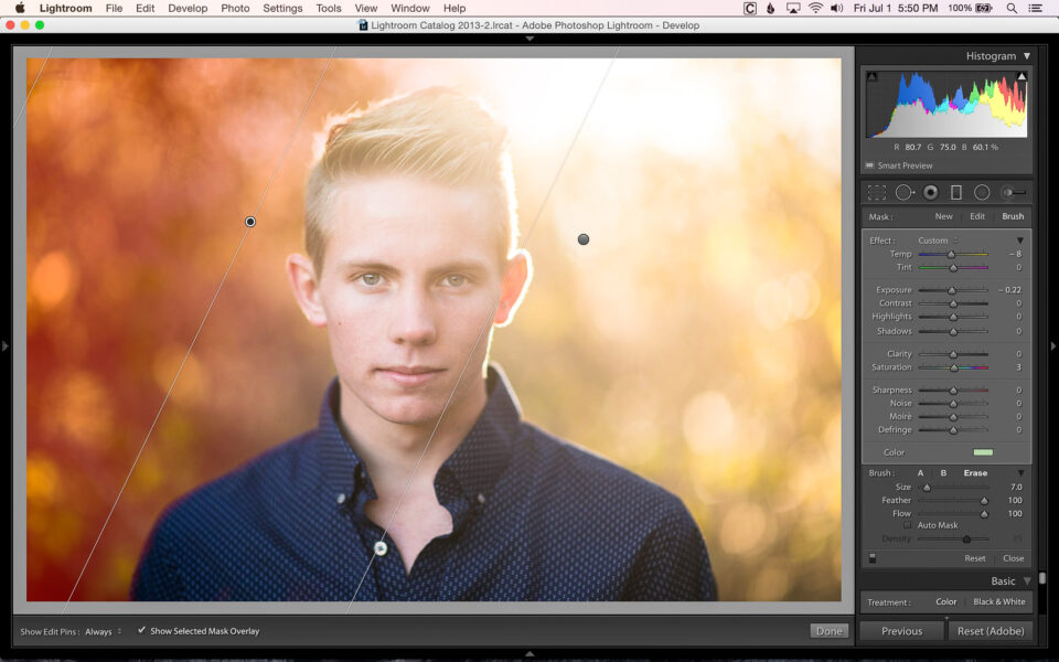 Adding Color With Filters and Brushes In Lightroom-11
