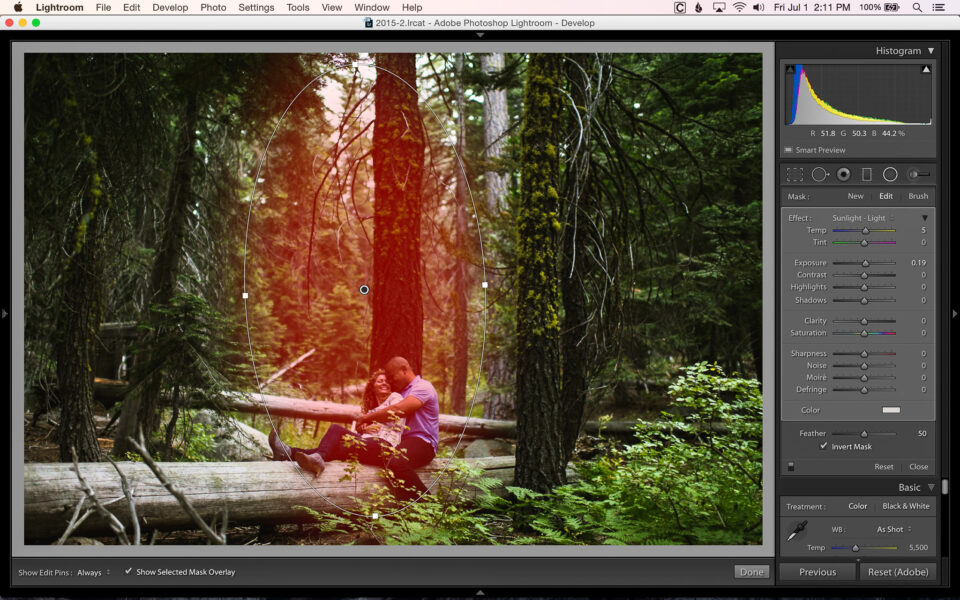 Adding Color With Filters and Brushes In Lightroom-9