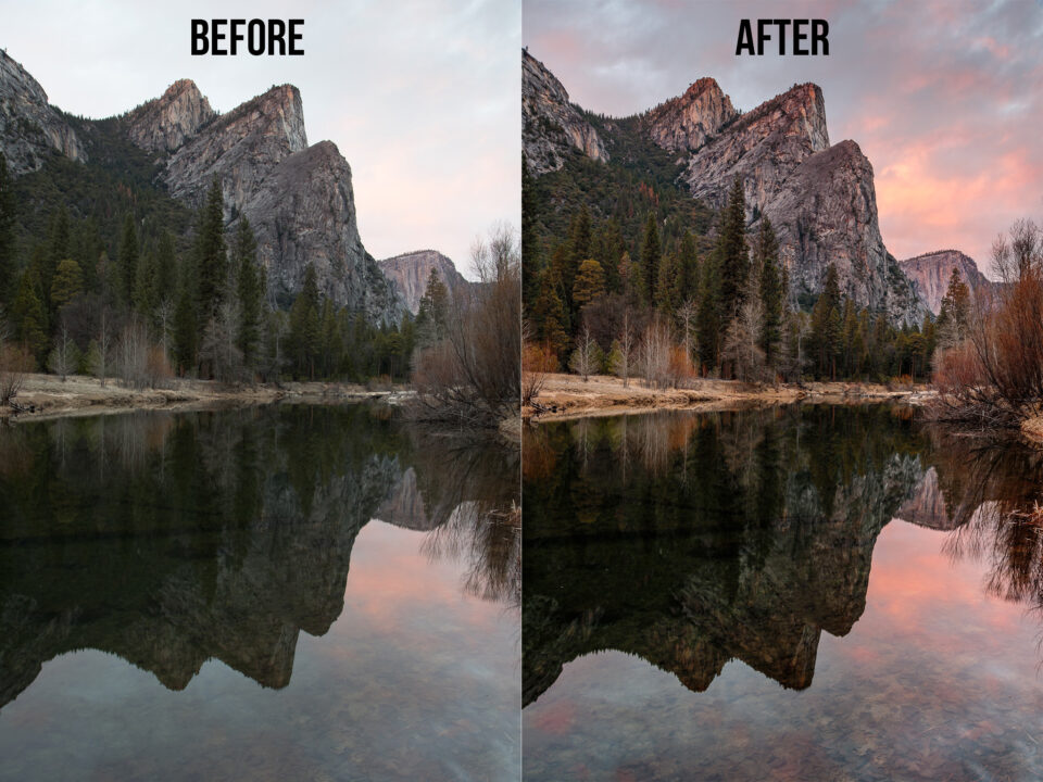 Before and After Yosemite