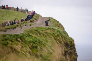 Dangerous Photographers at the Cliffs of Moher