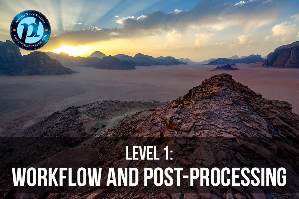 PL Level 1 Workflow and Post-Processing