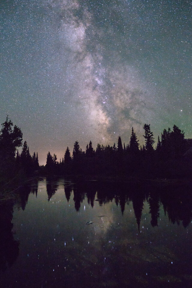 Milky Way at the Tetons