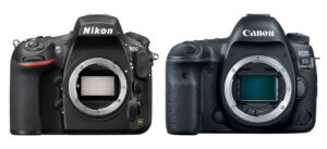 Nikon D810 vs Canon 5D Mark IV