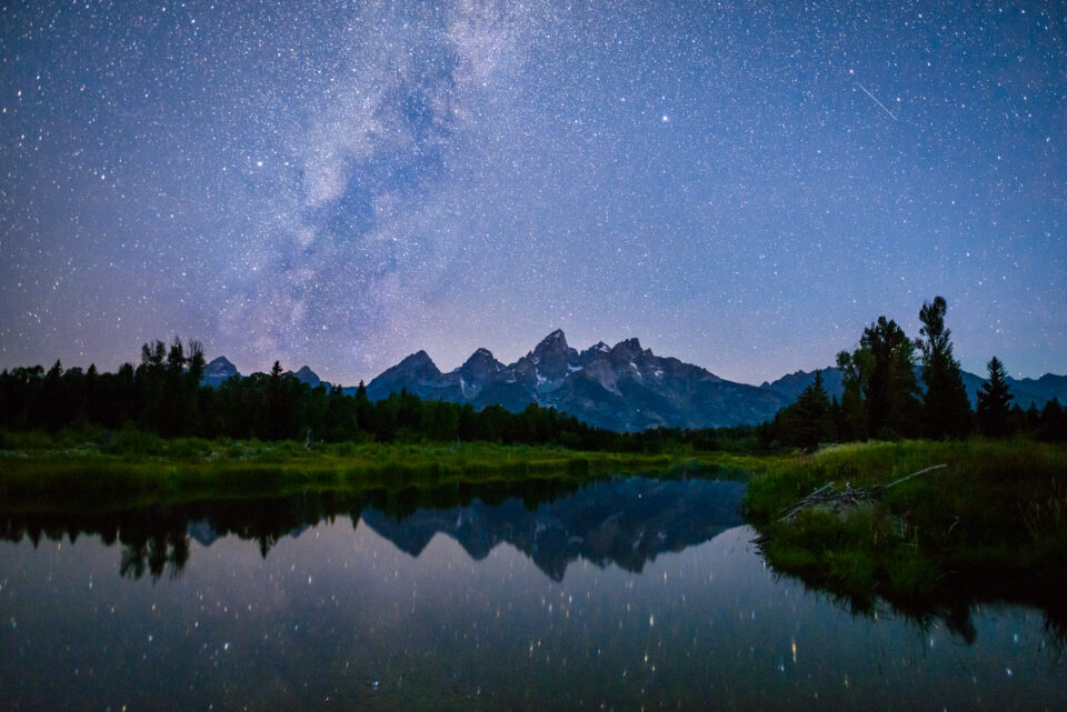 The Tetons at Night