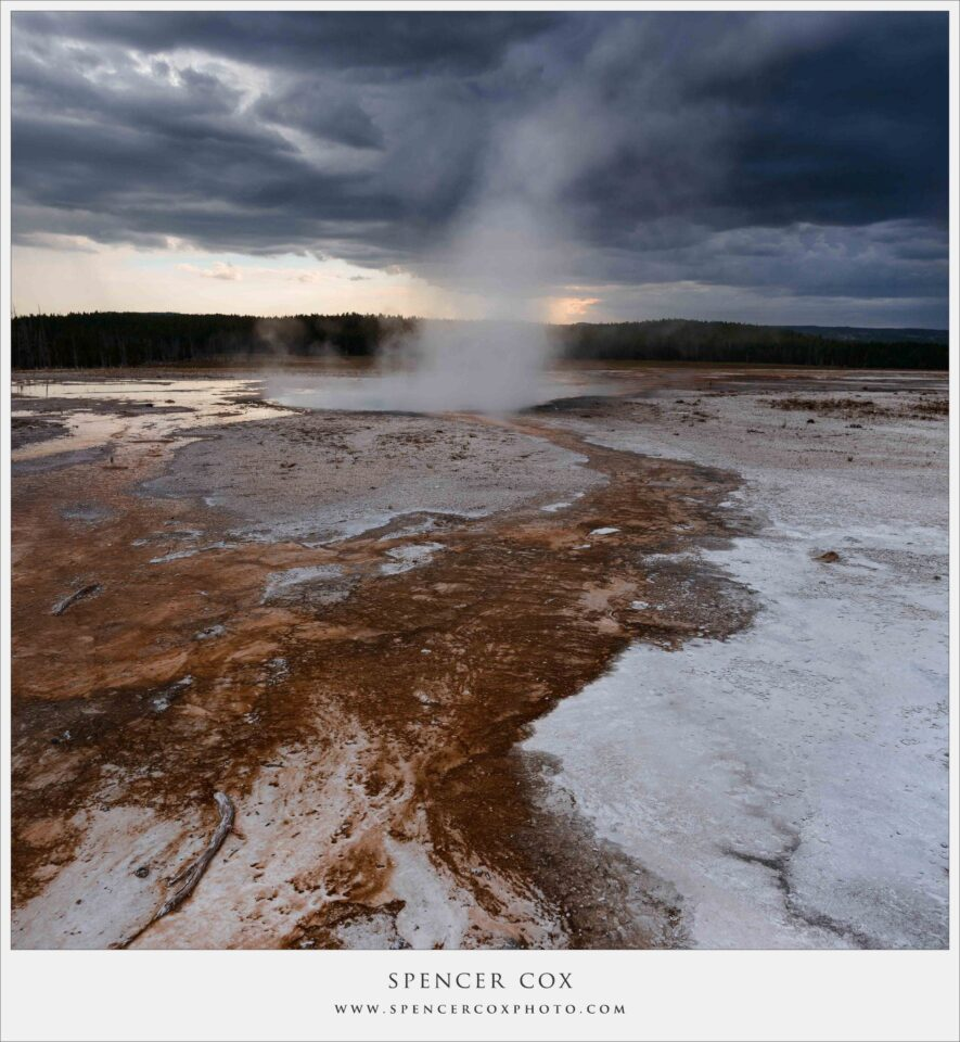 Spencer-Cox Storm Geyser