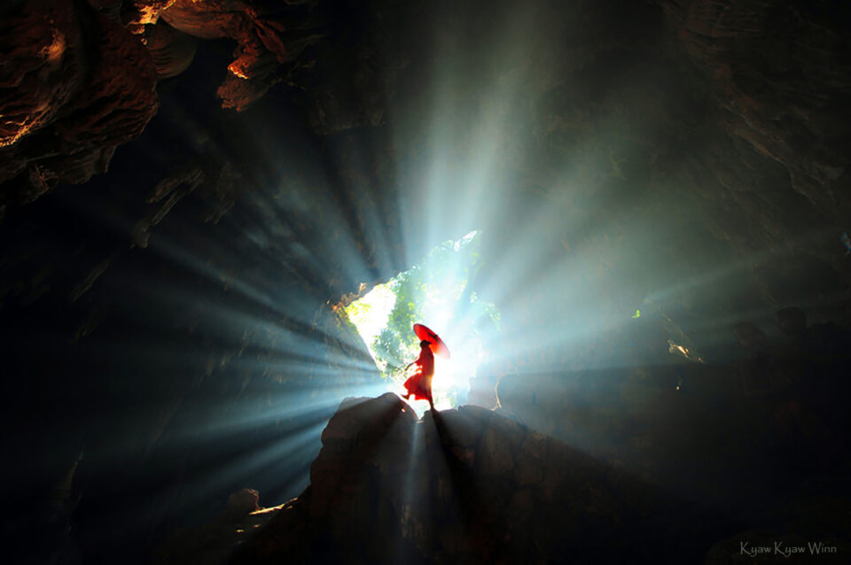 14. Kyaw-Kyaw-Winn_Monk-Enlightenment-Cave_Hpa-An-Myanmar