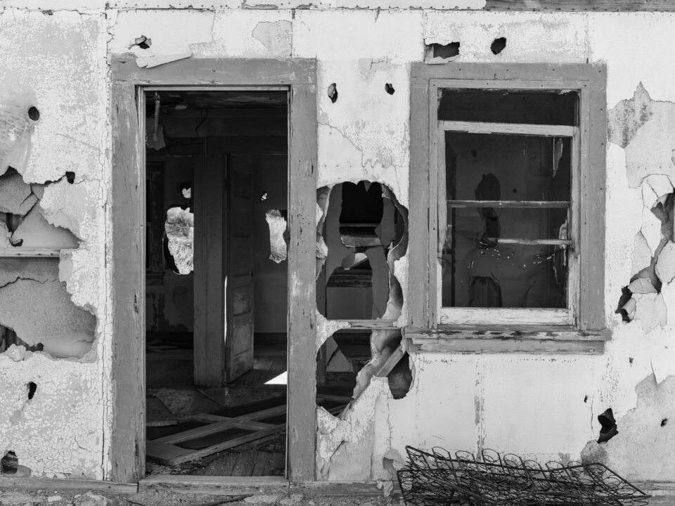 Death Valley Abandoned Building