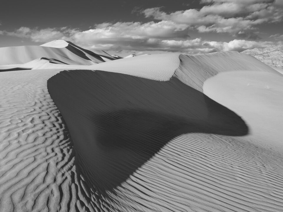 Death Valley Eureka Dunes B&W