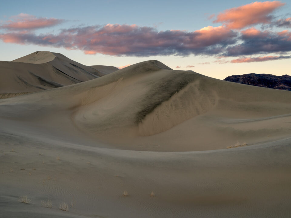 Death Valley Eureka Dunes Sunset