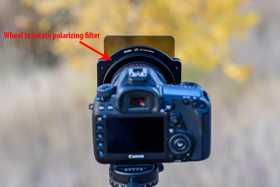 NiSi Polarizing Filter Rotation Wheel