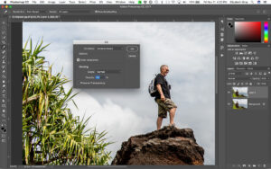 Using Content-Aware Fill Non-Destructively in Photoshop