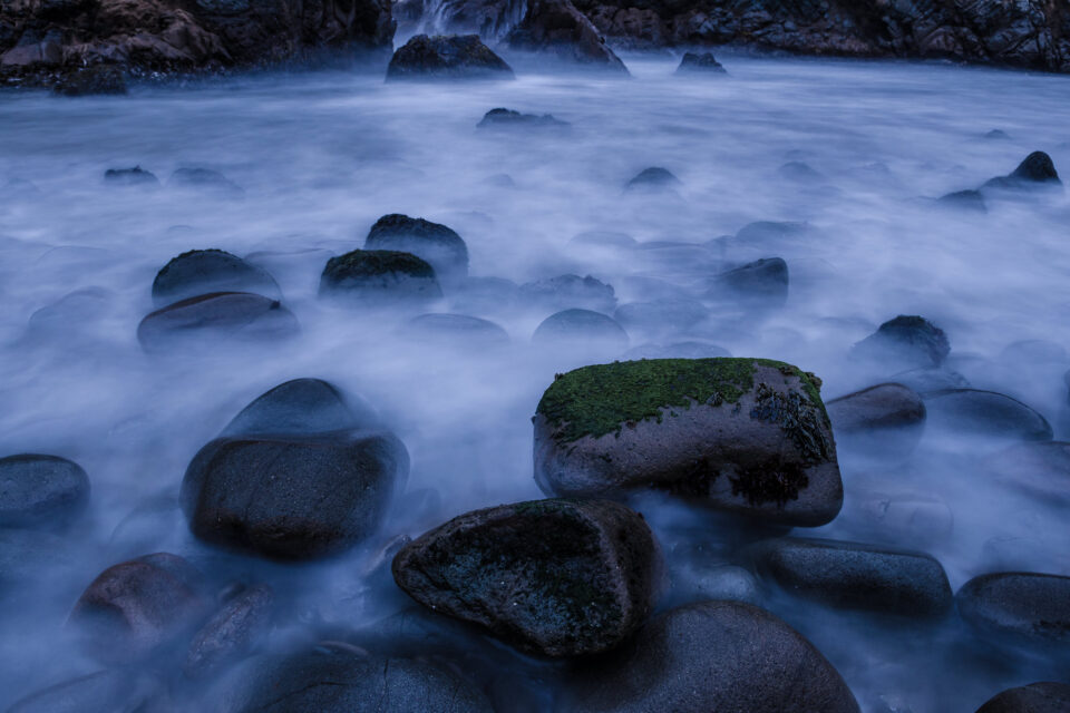 30 second exposure at the ocean