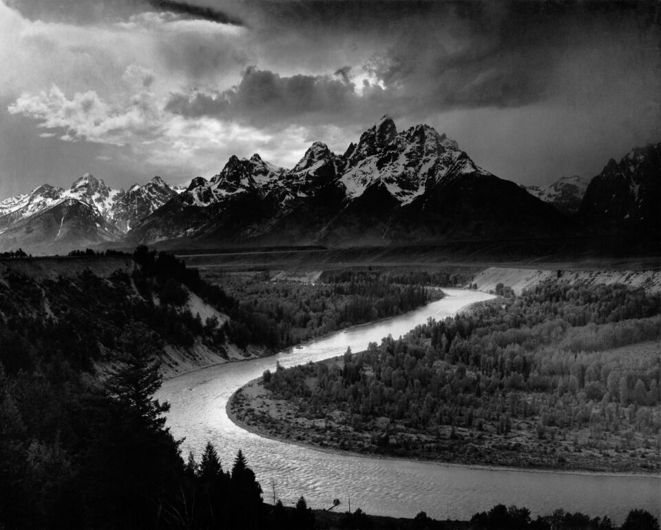 Ansel Adams Snake River photo