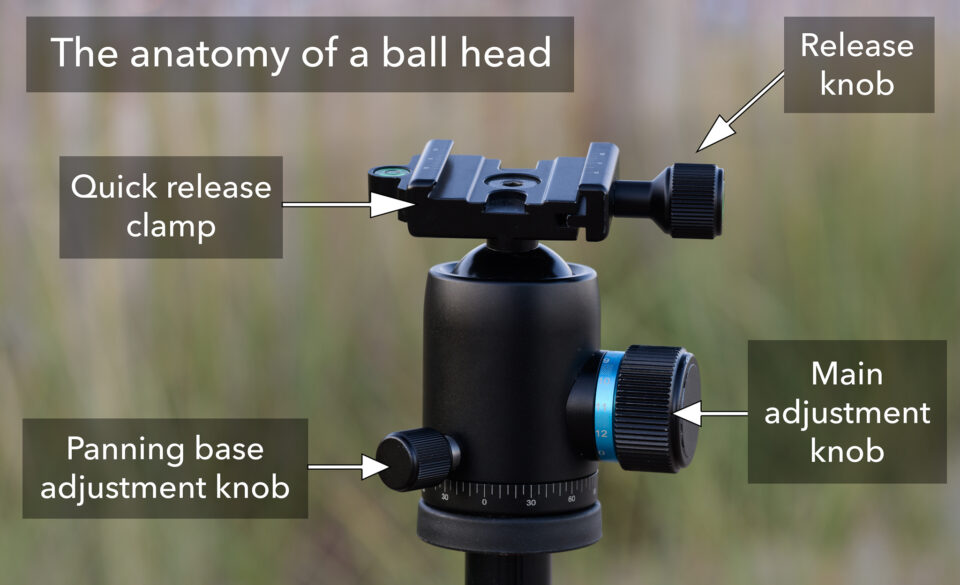 Ball head components