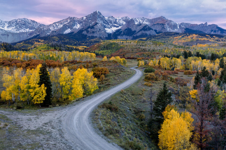 Colorado Fall Colors captured with Canon 5D Mark IV