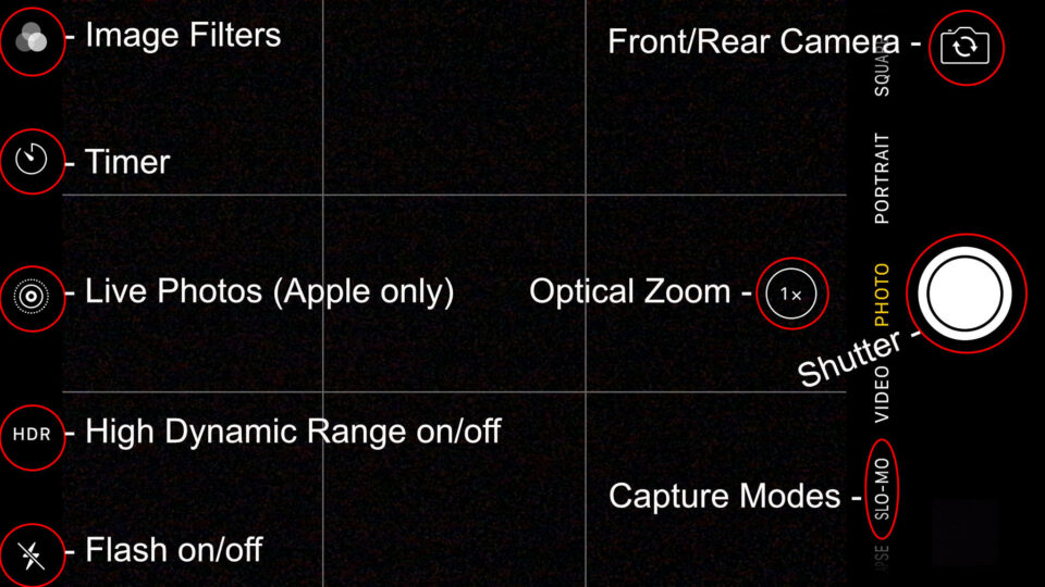Cell Phone Photography Camera Controls-1