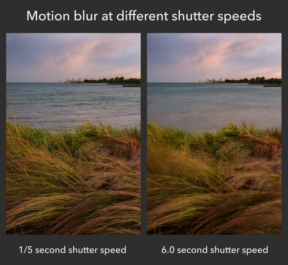 Motion blur comparison
