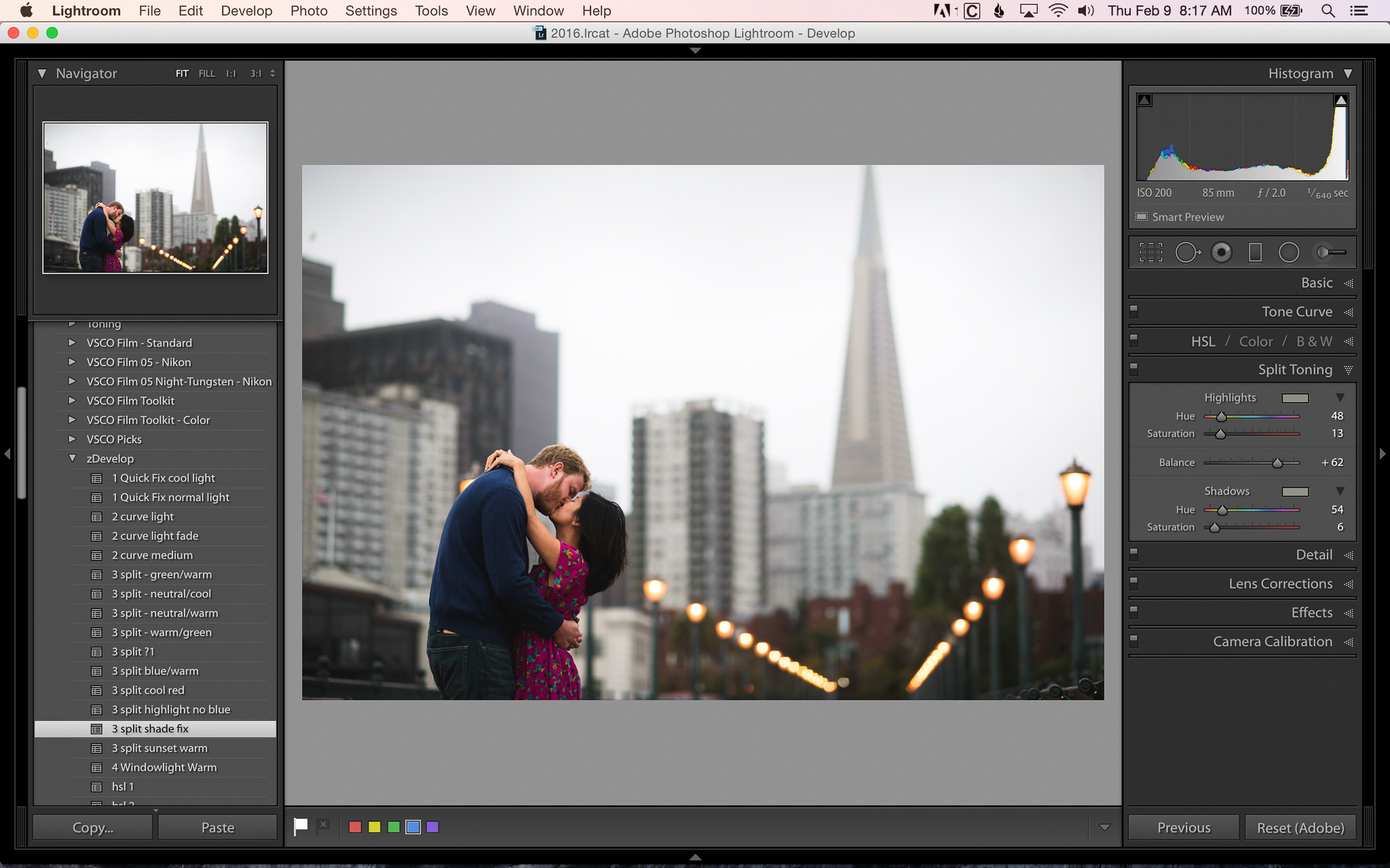 lightroom mobile how to create presets