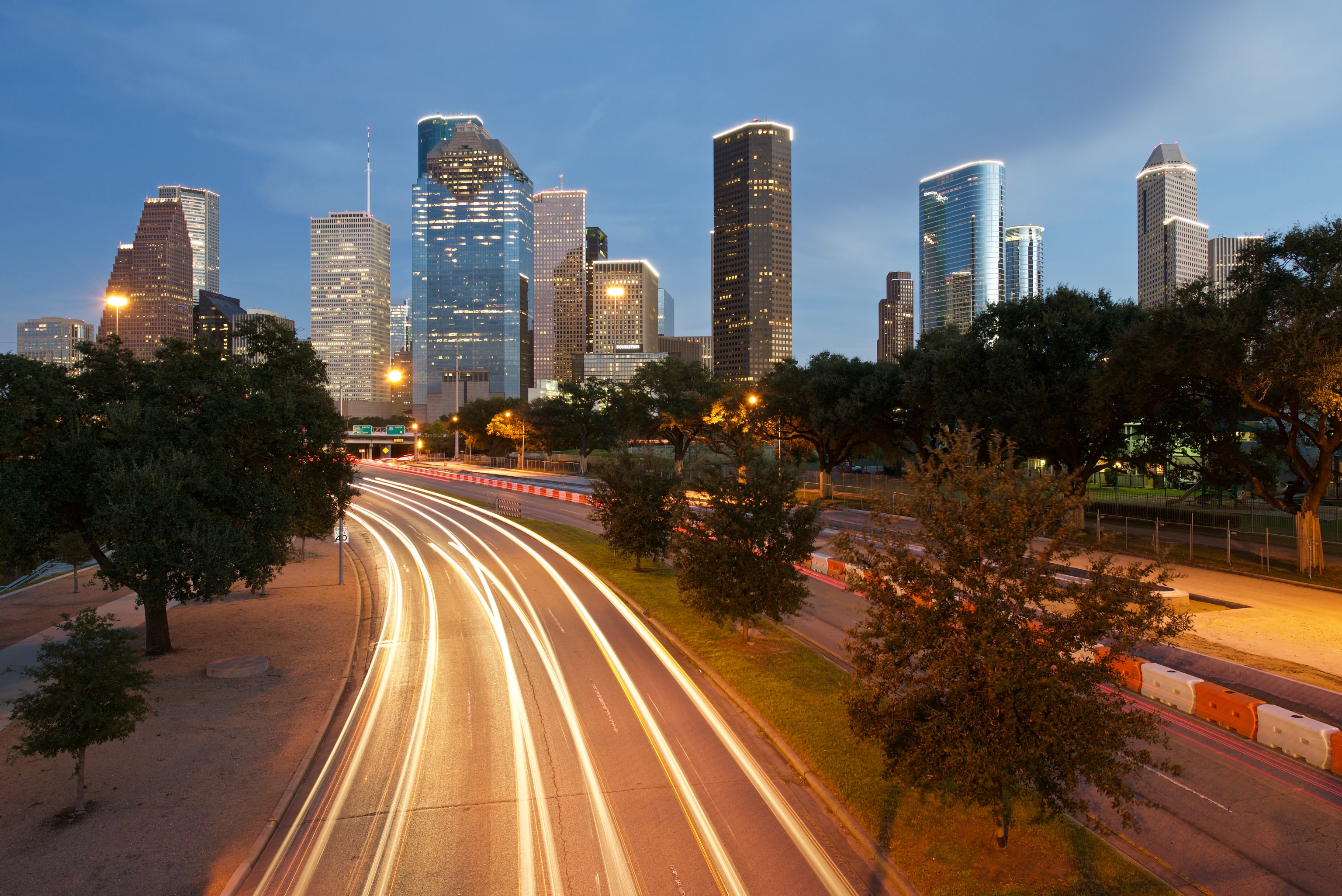 Discovering the Houston Skyline