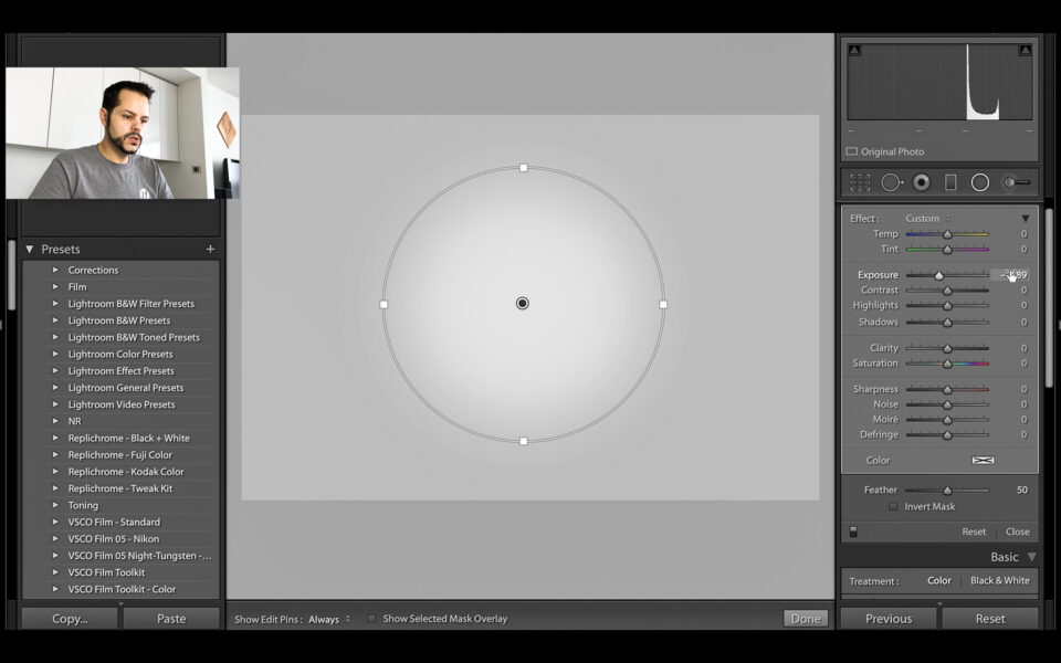 Lightroom Radial Filter Tutorial-1