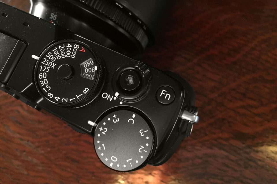 X-Pro2 - ISO/Shutter speed dial
